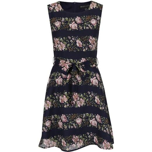 Tmavomodré šaty Mela London - Glami.sk 90d05a47d7