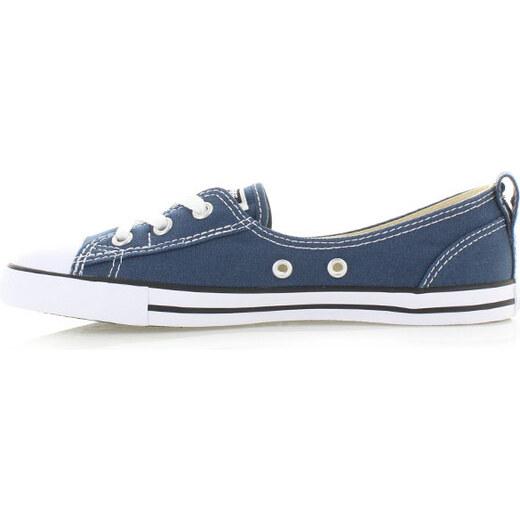Converse Dámské modré nízké tenisky Chuck Taylor All Star Ballet Lace -  Glami.cz 8f2715e465