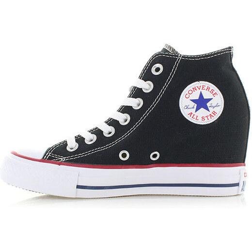 Converse Dámské černé platformové tenisky Chuck Taylor All Star Lux -  Glami.cz d348df8cd9