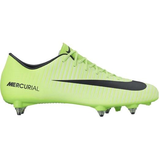 ad021ed81 Pánské kopačky Nike MERCURIAL VICTORY VI SG ELECTRIC GREEN/BLACK-FLASH LIM  - Glami.cz