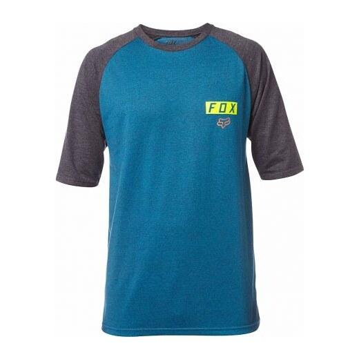 d5e9c2a822 Fox Pánské tričko Moth Ss Raglan heather maui blue - Glami.cz