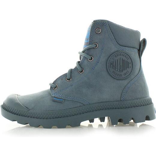 Modré kotníkové boty Palladium Pampa Cuff WP - Glami.cz f19a0bc5fc