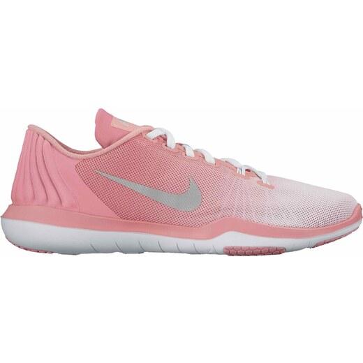 Dámské fitness boty Nike W FLEX SUPREME TR 5 PRM WHITE MATTE SILVER-BRIGHT  MELO - Glami.cz a51eb2600b