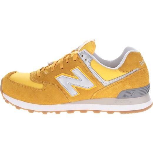 Žlté pánske semišové tenisky New Balance - Glami.sk b6ed517df8c