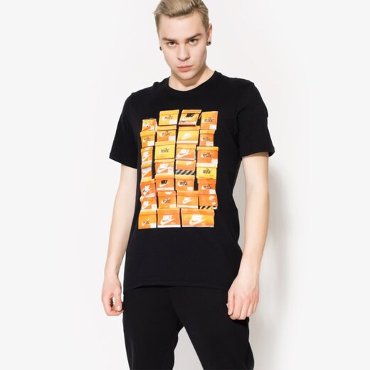 57dbf7792 Nike Tričko Ss Tee Vint Shoebox Muži Oblečenie Tričká 834636010 - Glami.sk