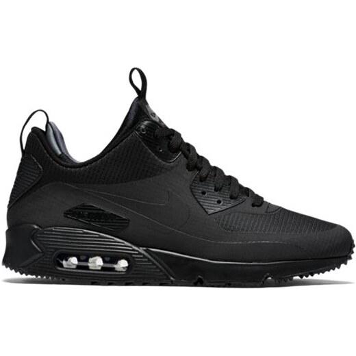 Nike Air Max 90 Mid Zimné Tenisky Čierne - Glami.sk efbbfdd3d39
