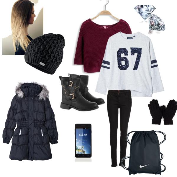 Zimní outfit:))