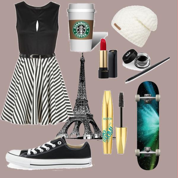 Skate v paříži