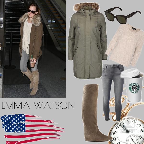 Emma Watson autumn style