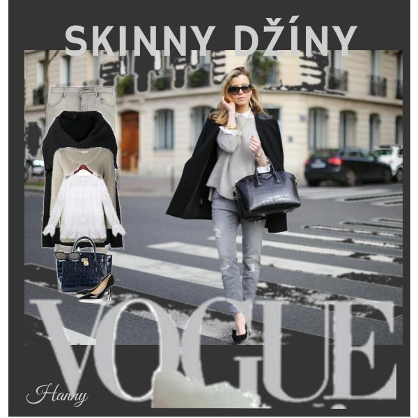 Skinny džíny...