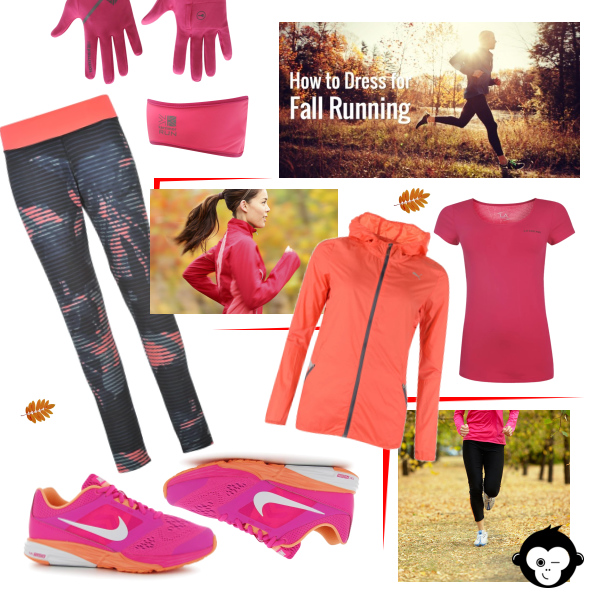 How to dress for fall running