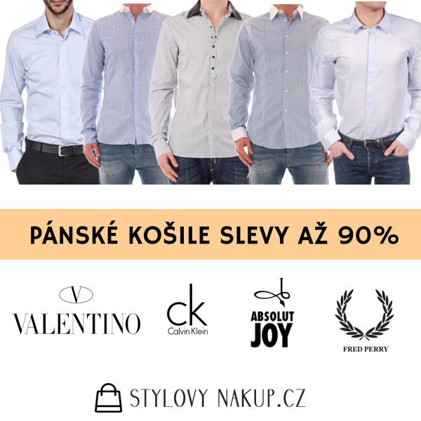 Pánské košile - stylovynakup.cz