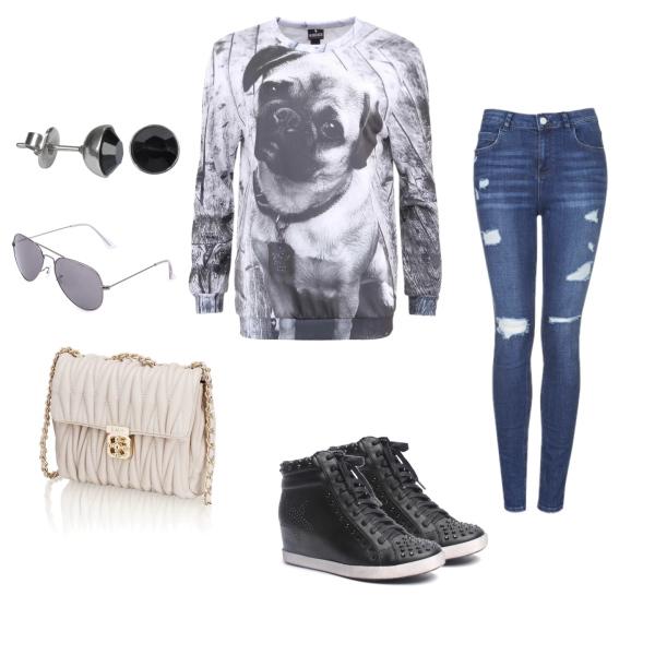 Obyčejný trend na styl černobílá:)
