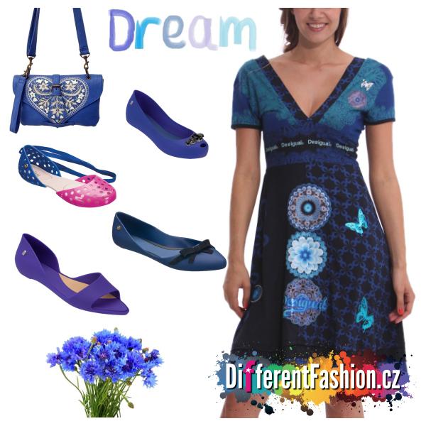 Modrá je dobrá, www.DifferentFashion.cz