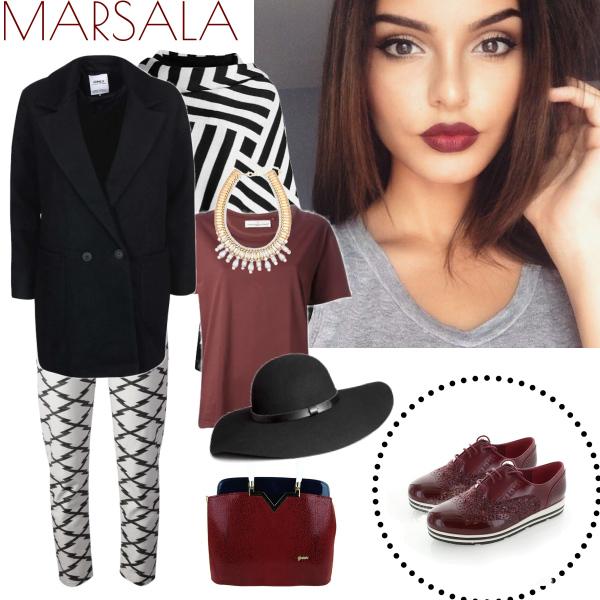 Marsala colour