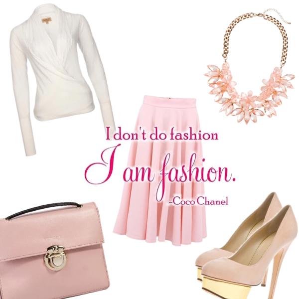 I am fashion..