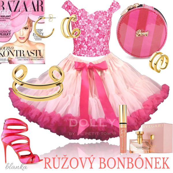 Růžový bonbónek