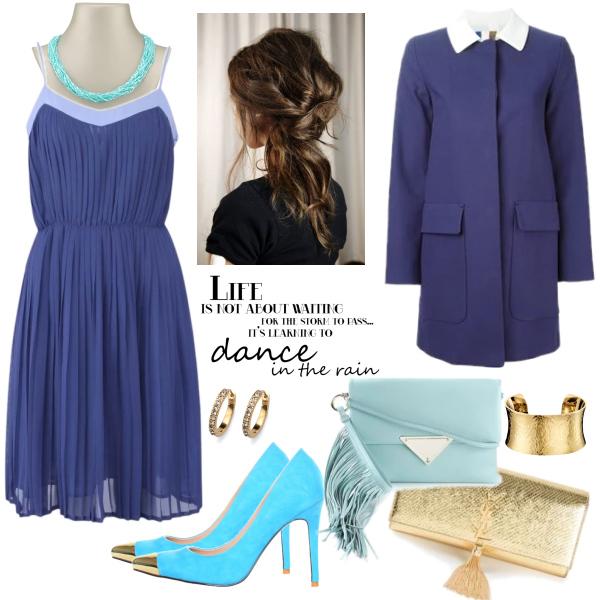 do tanečních v modré