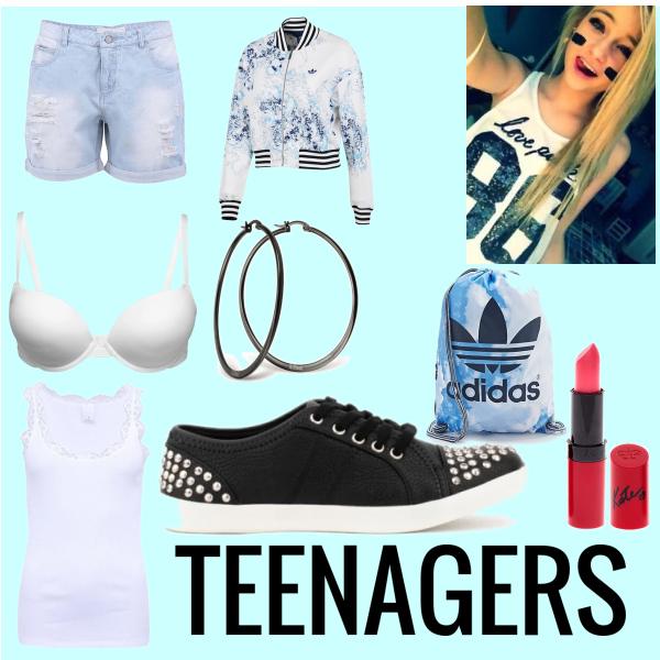 Teenagers girls style