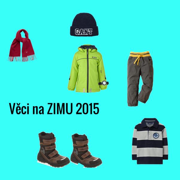 Věci na zimu 2015