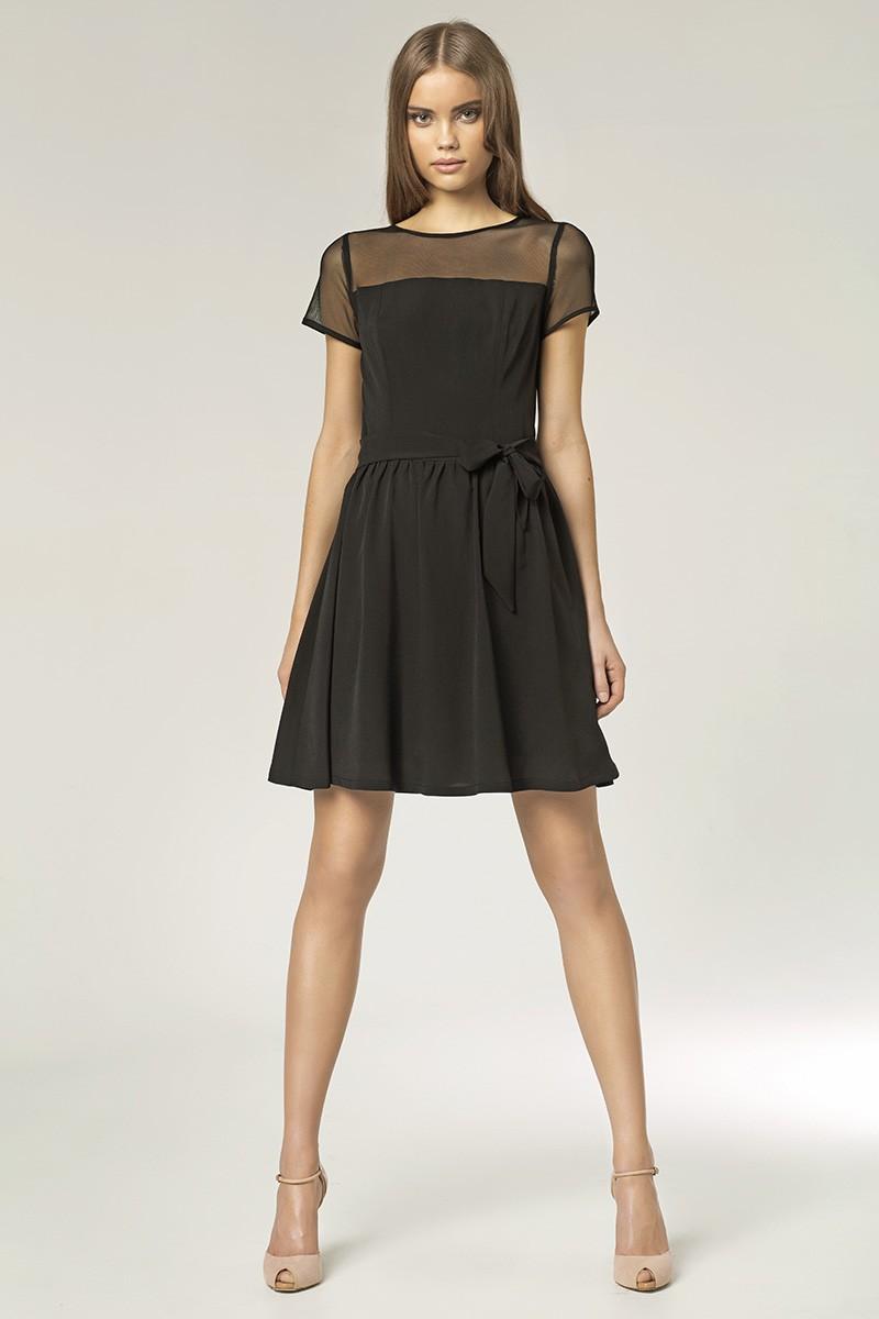 Dámské letní šaty NIFE 36 černá Ano - Glami.cz 5227897e4d0