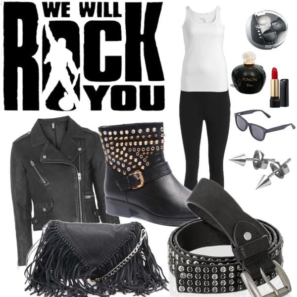 Na rockovej koncert