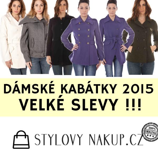 Dámské kabátky 2015 - Stylovynakup.cz