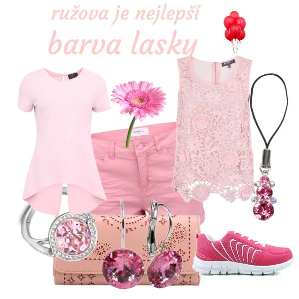 ružova je nejlepší barva lasky
