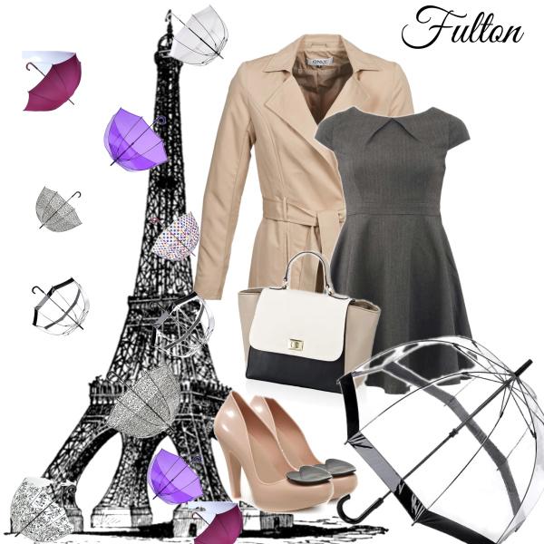 Aktualita z Paříže: Na Eiffelovu věž prší deštníky Fulton!