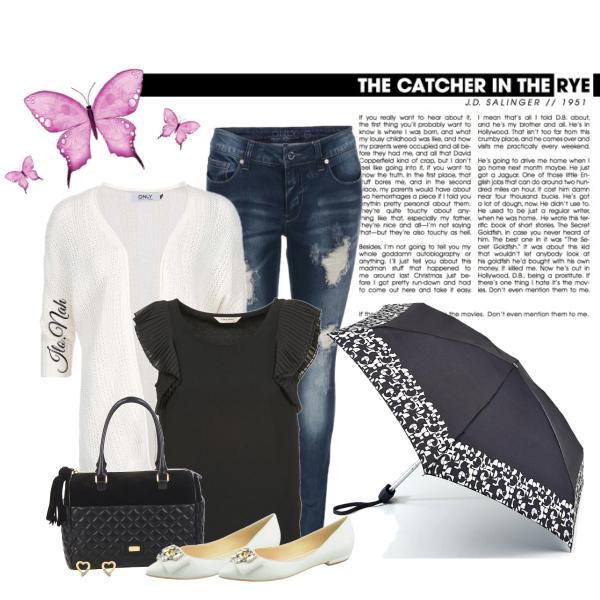 Deštník a džíny