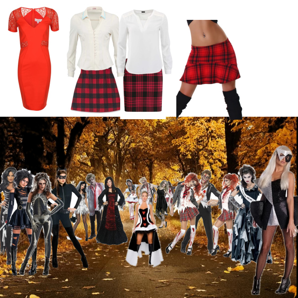 Halloweenský set