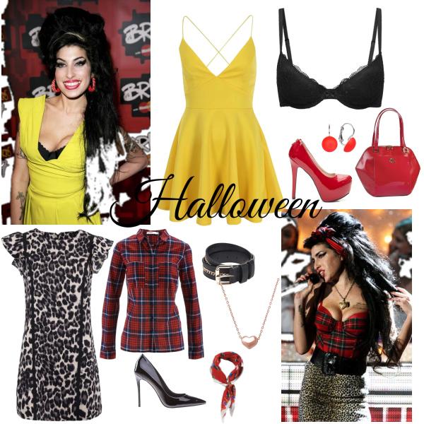 Za Amy Winehouse na Halloween