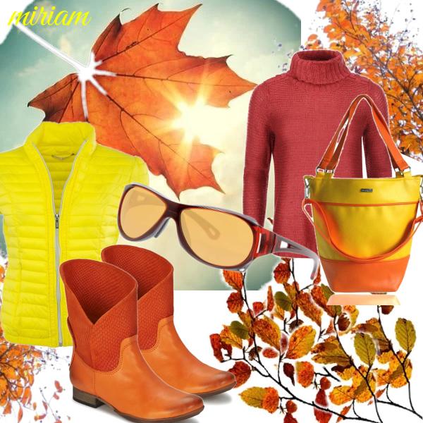 krásne jesenné slnko