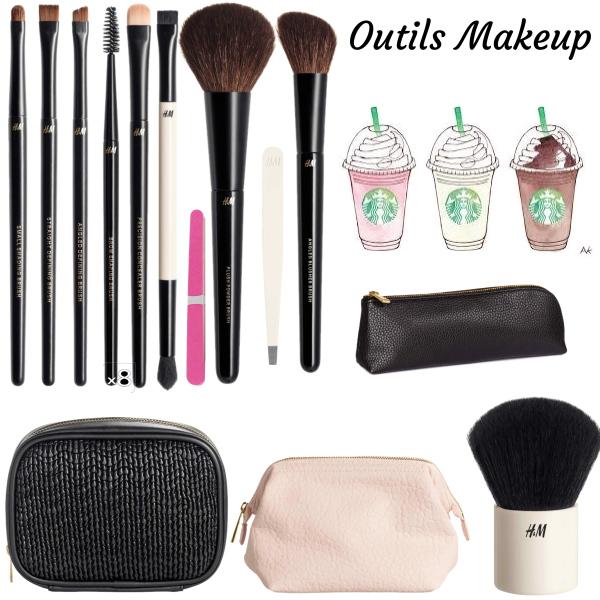 Outils Makeup