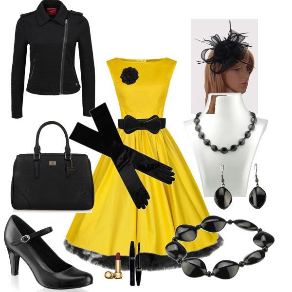 žlutá a černá