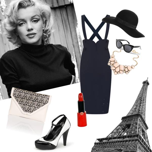 Retro ve stylu Marilyn Monroe