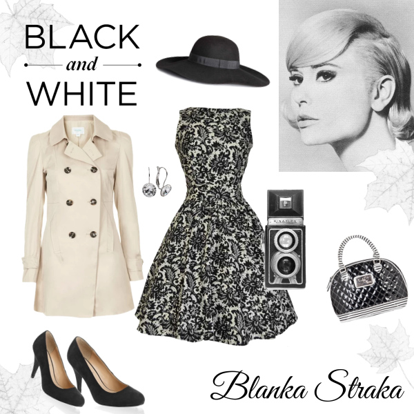 Černobílý podzim