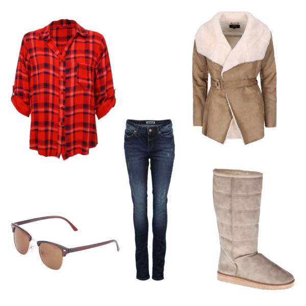 Country look