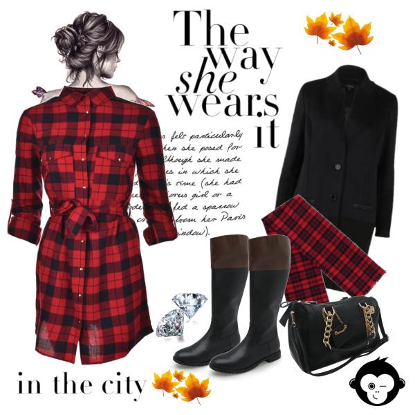 Outfit do mesta :)