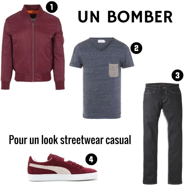 Bomber Casual