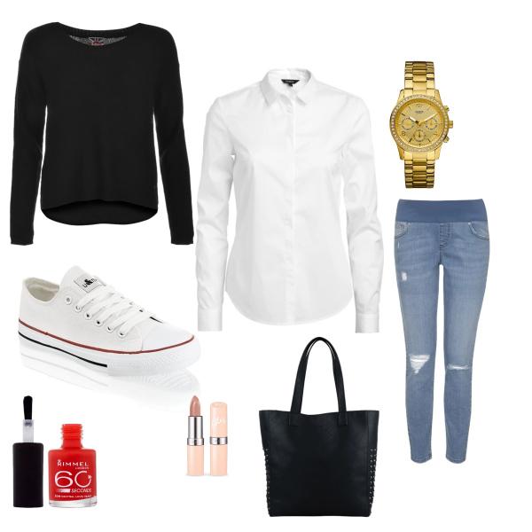Základy šatníku - bílá košile 3