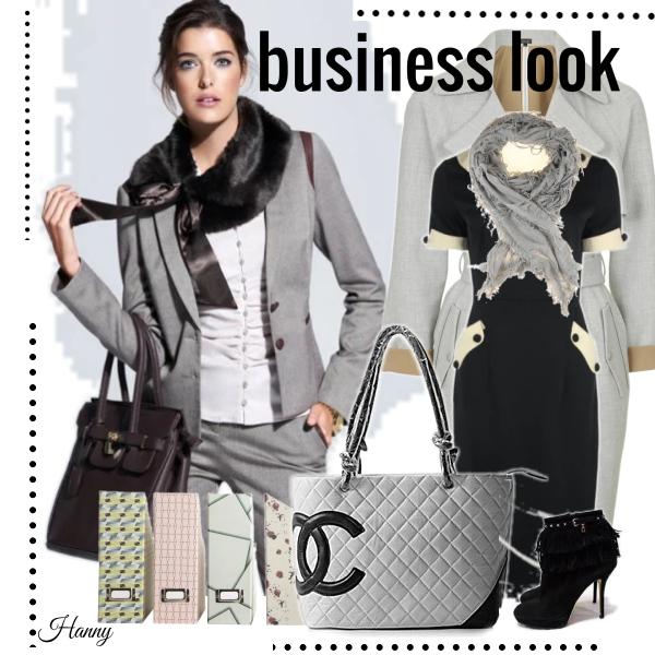 Business look...