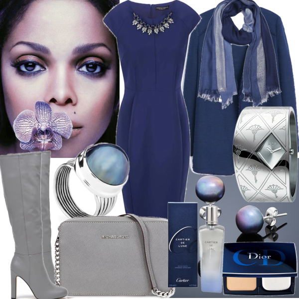 Chic blue