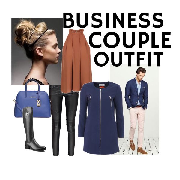 Business couple outfit