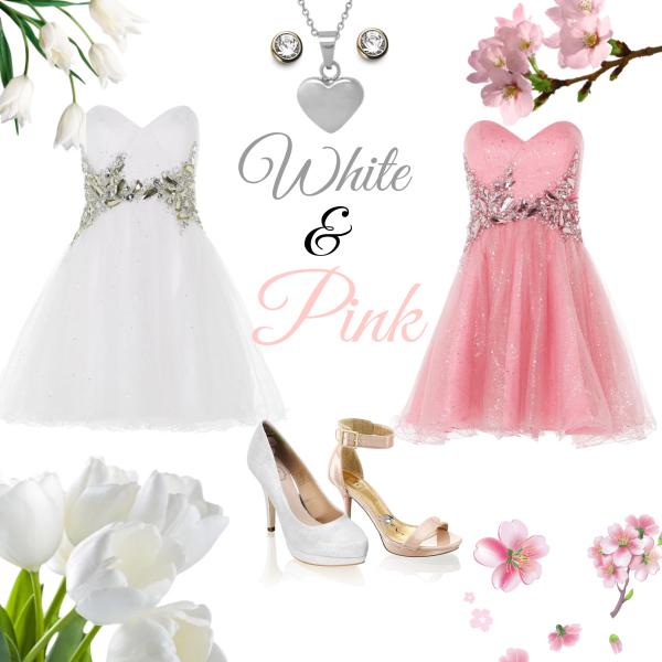 White &Pink