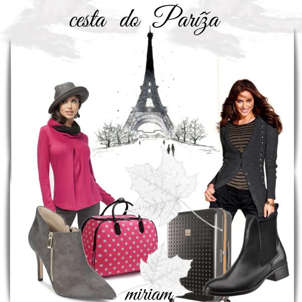 cesta do paríža