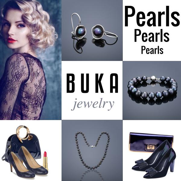 Elegantní s perlami