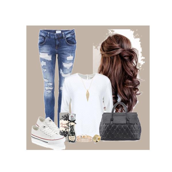 brown haird girl