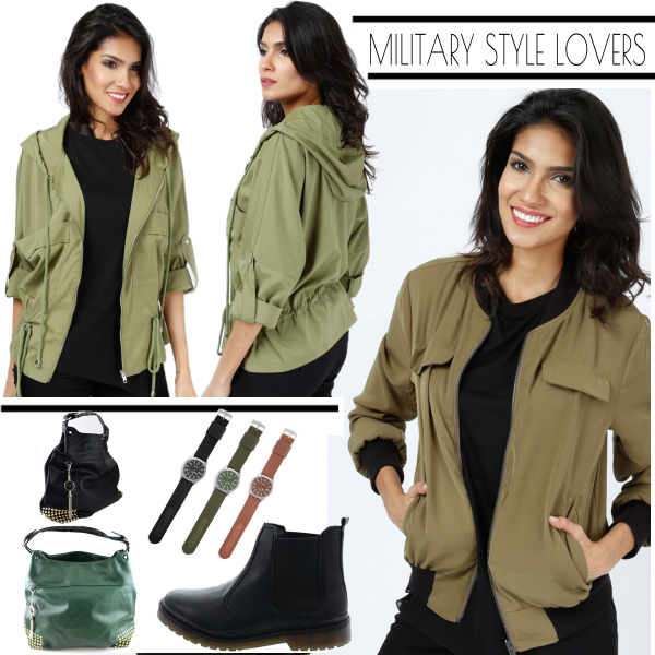 Cool & Casual im Military-Style