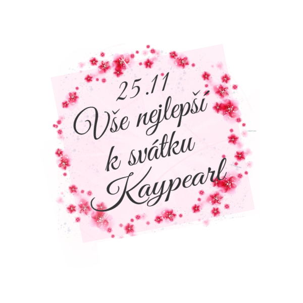 Přání pro Kaypearl